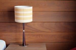 Moderne bordlampe