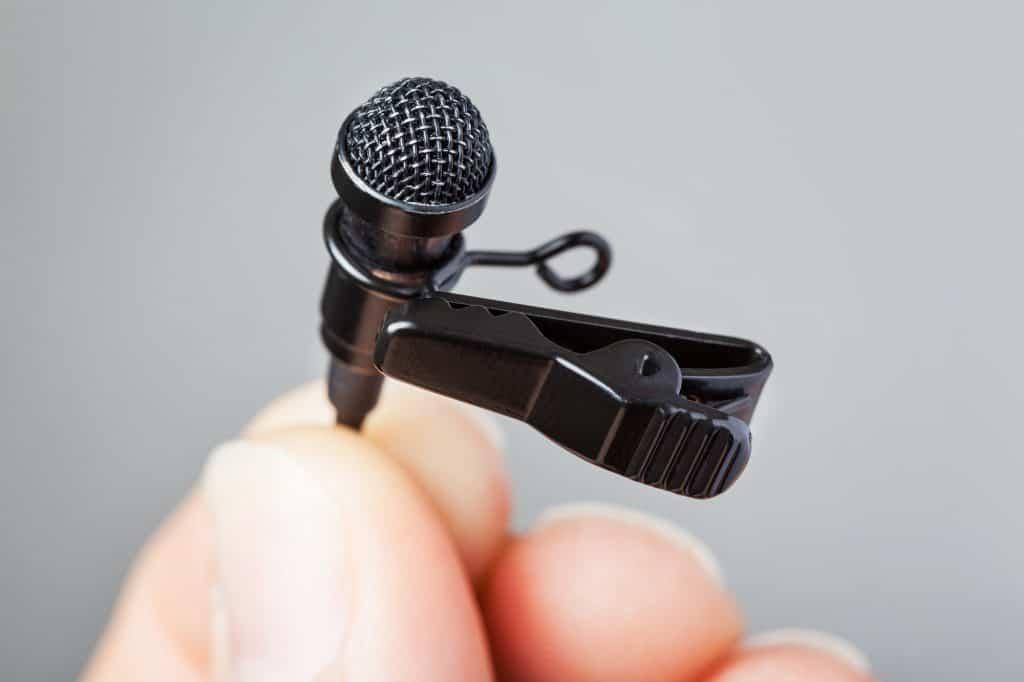 Trådløs knaphulsmikrofon